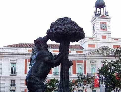 Monumentos destacados madrid city tour - Como llegar a la puerta del sol ...