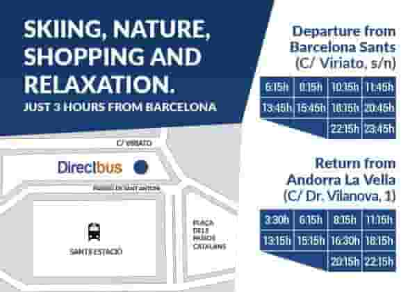 Discounts for the Andorra Direct Bus Barcelona City Tour