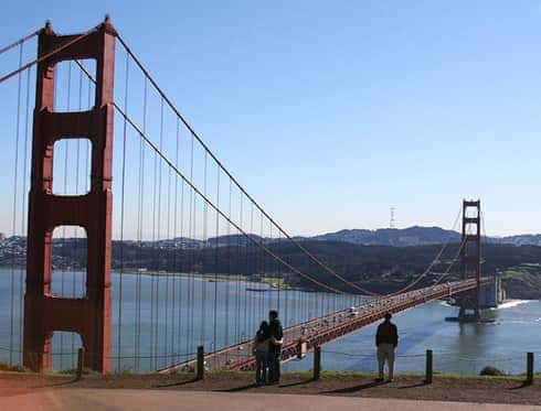 Golden Gate Bridge North Vista