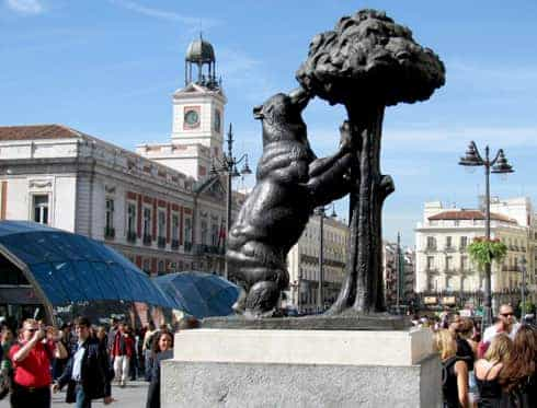 Que faire madrid puerta del sol madrid city tour for Puerta 7 foro sol
