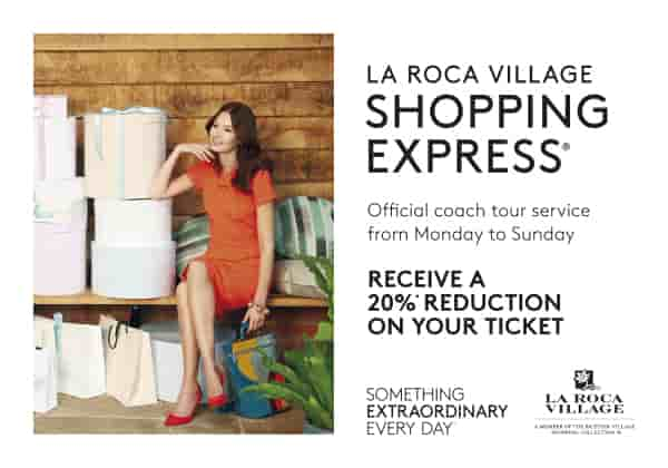 La Roca Village Shopping Express