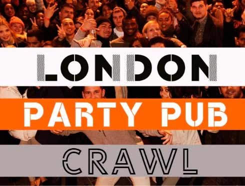 London Party Pub Crawl