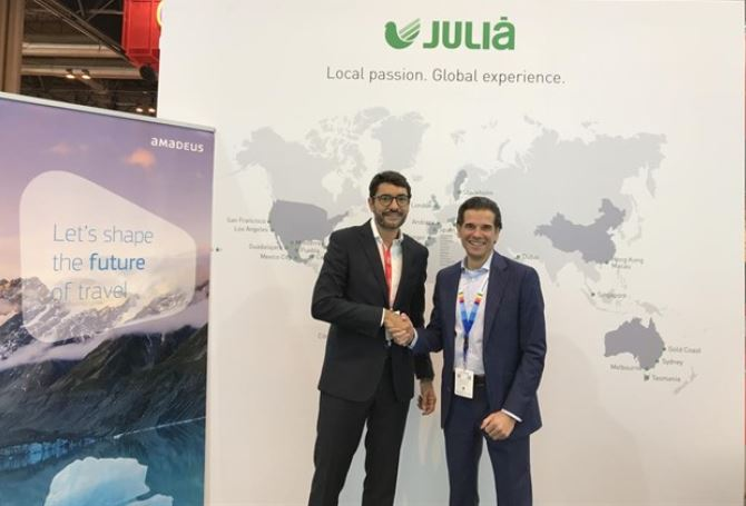 Grupo Julià creates a multi-channel tourism distribution platform with Amadeus