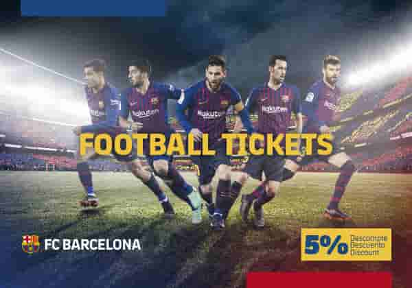 FC Barcelona Match Tickets