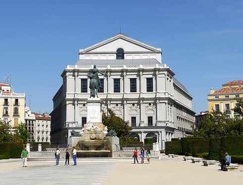 Teatro Real Madrid City Tour