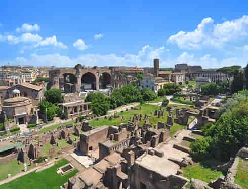 Fora and Palatine Hill