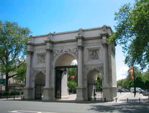 Tourist Attractions Marble Arch London City Tour