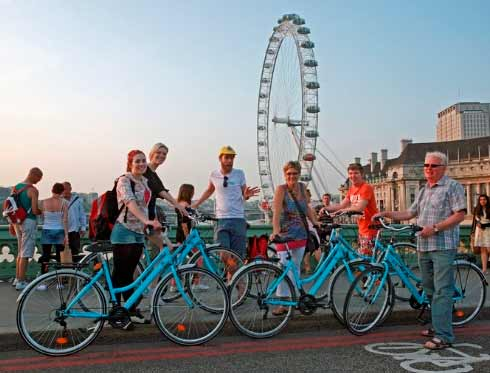 London Bicycle Tour