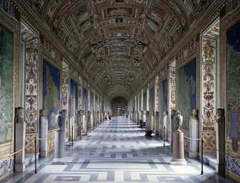 Map Gallery in the Vatican Museums