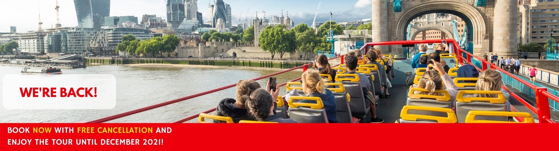 Free cancellation London City Tour