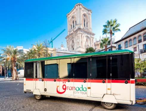 Granada City Tour Map   Granada City Tour