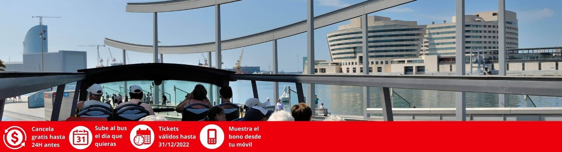 Cancelacion gratis Barcelona City Tour