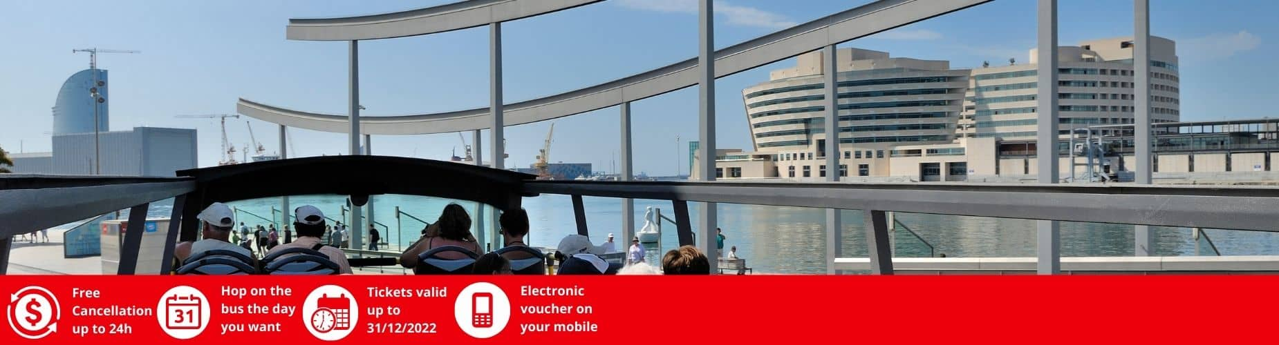 Free cancellation Barcelona City Tour